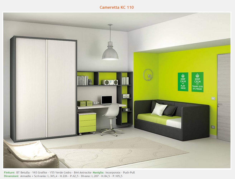 Spazio Tre camerette - modelli